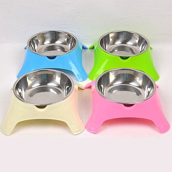 BOBO Y015P Plastic Bowl Steel 11x5x4.5cm Pet Bowl Bobo