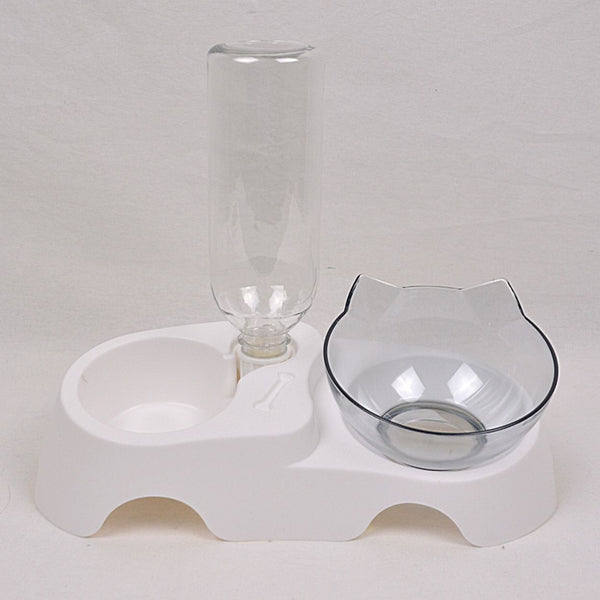 BOBO Y017RY Plastic Bowl White Pet Bowl Bobo