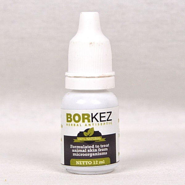 BORKEZ Herbal Antiseptic Tetes 12ml Pet Medicated Care Borkez