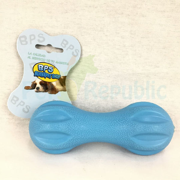 BPS Toy004 Squeeky Rubber Dumbbell - Pet Republic Jakarta