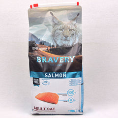 BRAVERY Adult Cat Salmon 2kg Cat Dry Food Bravery