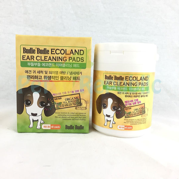 BUDLE Budle Ear Cleaning Pad 40pcs - Pet Republic Jakarta