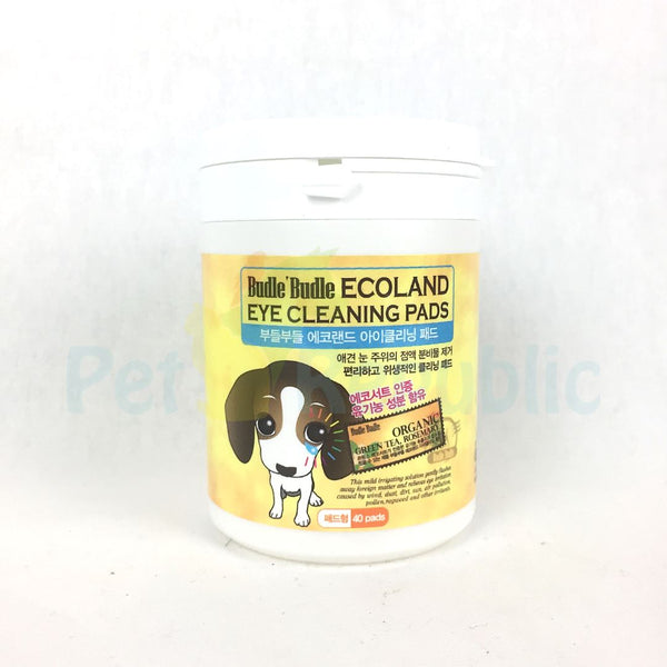BUDLEBUDLE  Eye Cleaning Pad 40pcs - Pet Republic Jakarta
