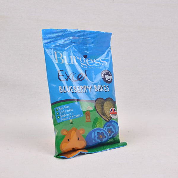 BURGESS Excel Treats Blueberry 80gr Small Animal Snack Burgess