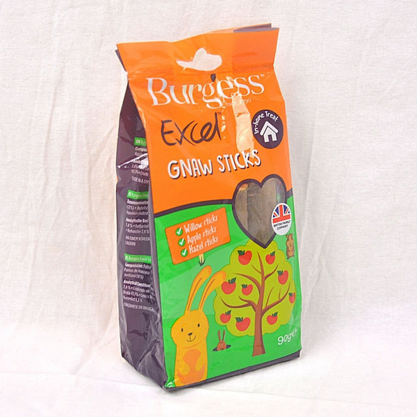 BURGESS Excel Treats GNAW Stick 90gr Small Animal Snack Burgess