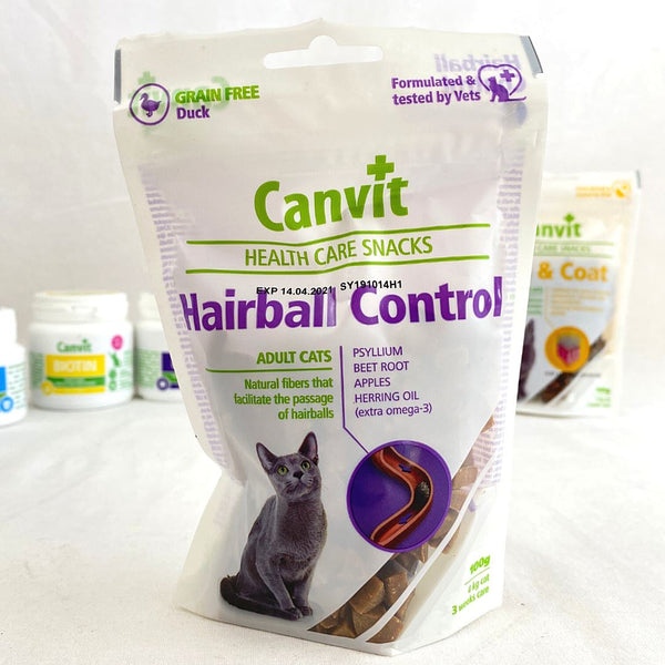 CANVIT Cat Health Care Snack Hairball 100g Cat Snack Canvit