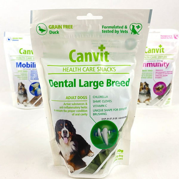 CANVIT Dog Dental Large Breed 250g Dog Dental Chew Canvit