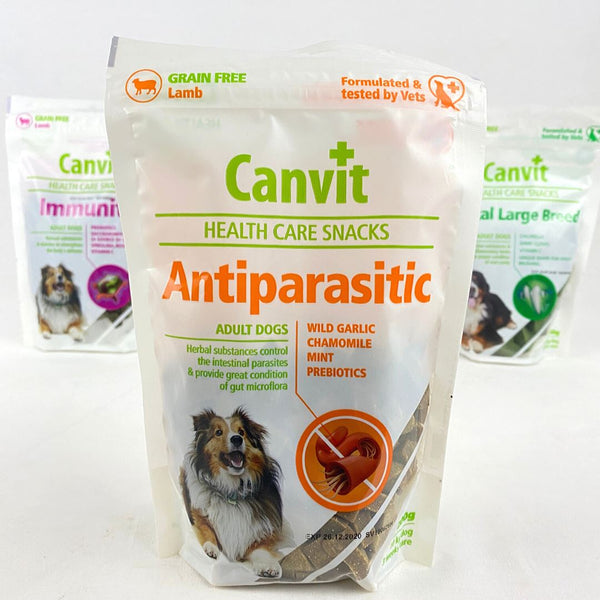 CANVIT Dog Snack Anti Parasitic 200g Dog Snack Canvit