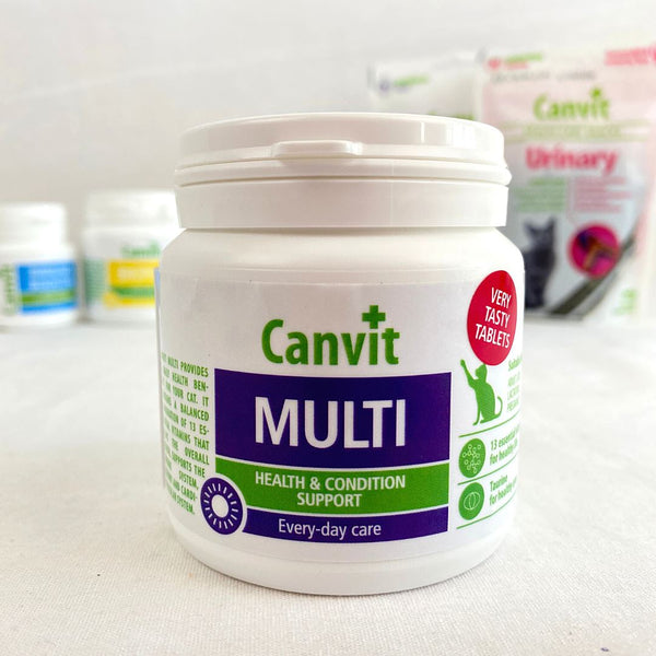 CANVIT Multi For Cats 100g Pet Vitamin and Supplement Canvit