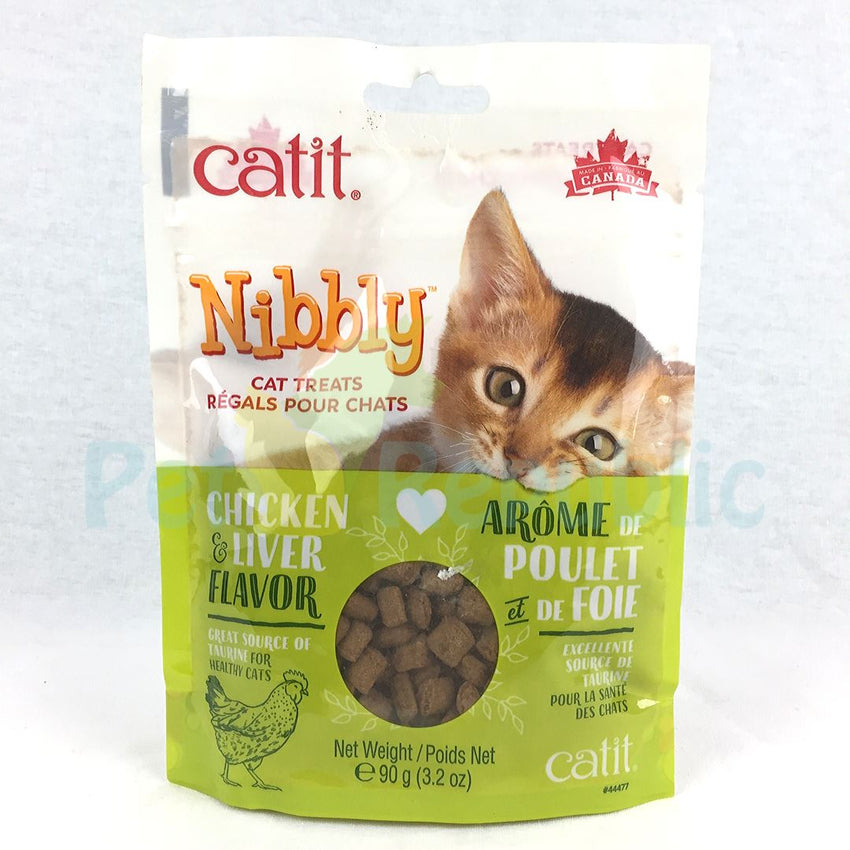 CATIT Nibbly Treats Chicken and Liver Flavor 90gr - Pet Republic Jakarta