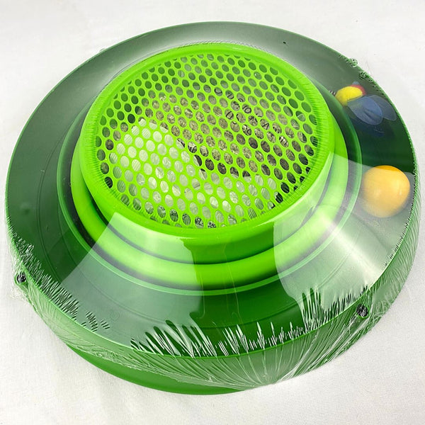 CATIT Play 3 in 1 Circuit Ball Toy with Cat Grass Cat Toy Cat It
