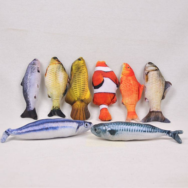 CATNIPKISS Doll Fish Small 20cm Cat Toy Catnip Kiss