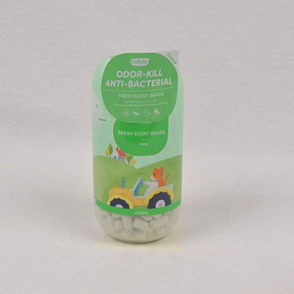 CATURE Cat Litter Deodoriser Beads Grass Scent 450ml Cat Sanitation Cature