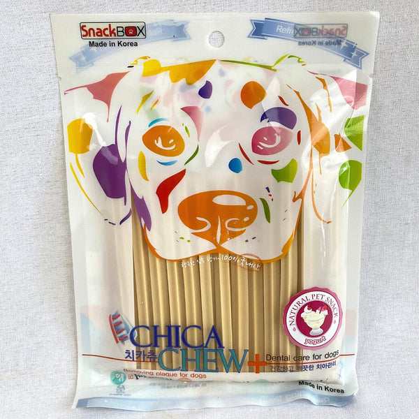CHICA Chew Removing Tartar Gum Yogurt 120g Dog Dental Chew Chica