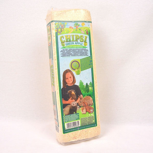 CHIPSI Wood Shaving Apple 1kg Small Animal Sanitasi Chipsi