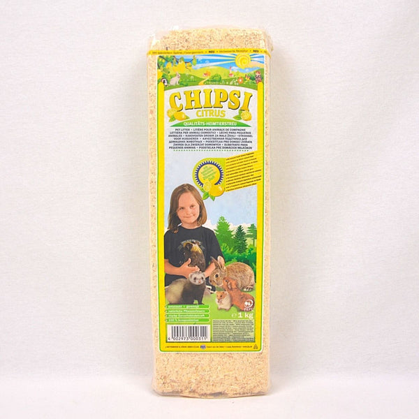 CHIPSI Wood Shavings Citrus 1kg Small Animal Sanitasi Chipsi