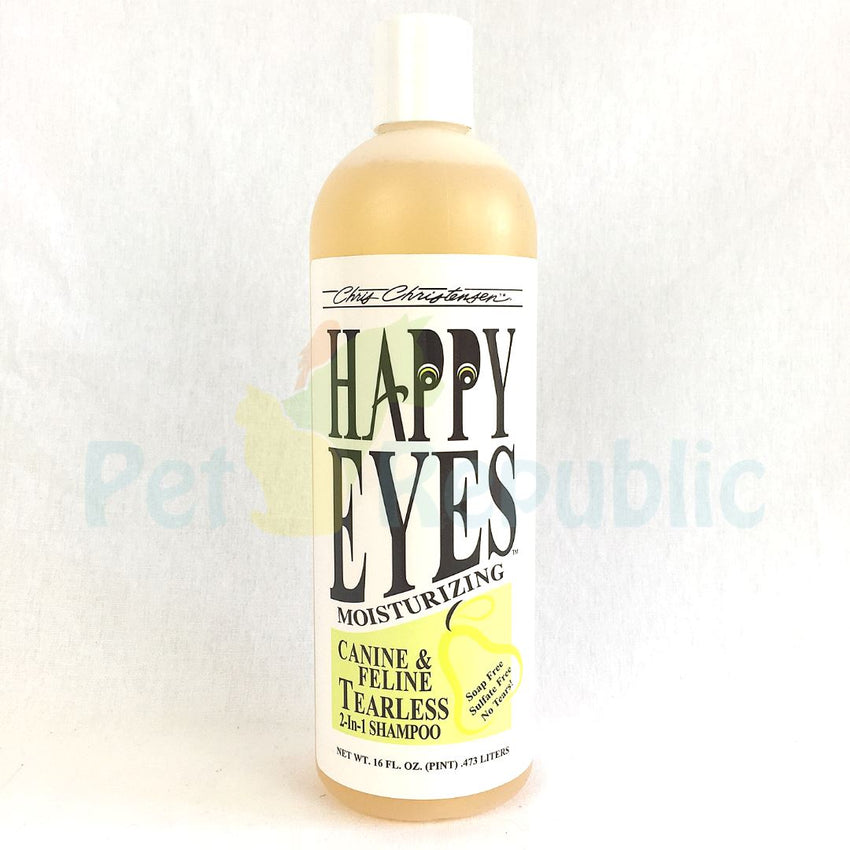 CHRISCHRISTENSEN Happy Eyes Tearless Shampoo 16oz - Pet Republic Jakarta