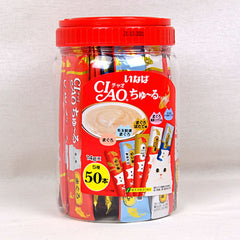 CIAO TSC11T Liquid Churu Tuna Variety Flavor 50pcs Cat Snack Ciao