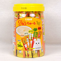 CIAO TSC12T Liquid Churu Chicken Variety Flavor 50pcs Cat Snack Ciao