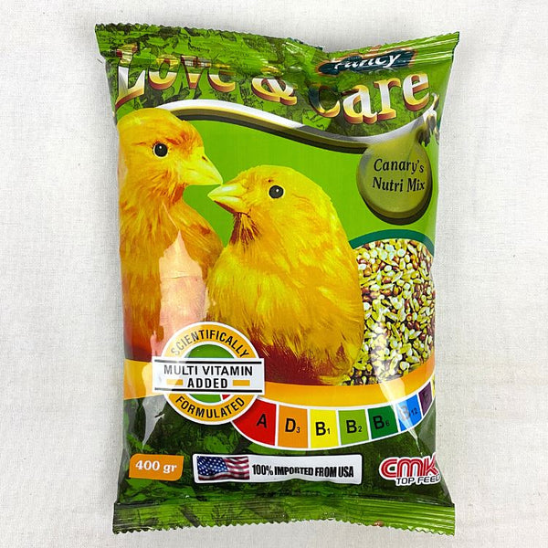 CMK FANCY Love & Care Canary 400GR Bird Food CMK