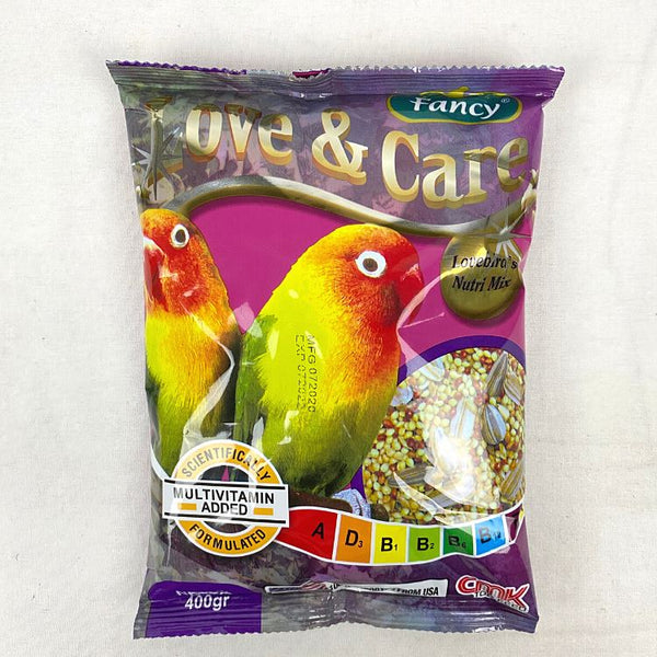 CMK FANCY Love & Care Love Bird 400GR Bird Food CMK