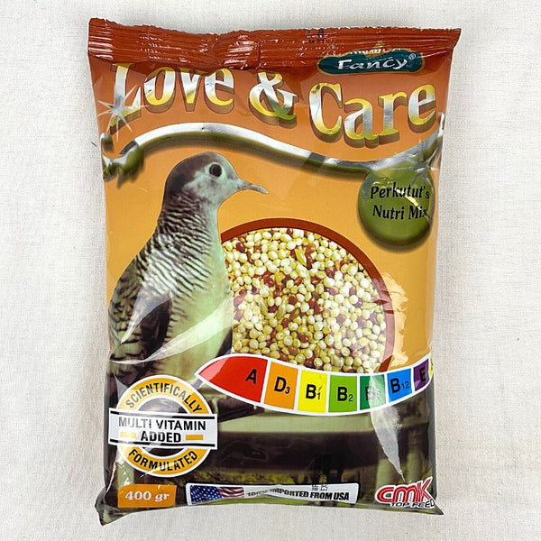 CMK FANCY Love & Care Perkutut 400GR Bird Food CMK