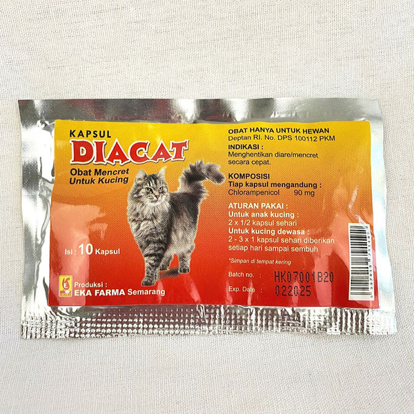 EKAFARM Diacat 10caps Pet Medicated Care Ekafarma