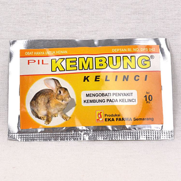 EKAFARMA Kembung Kelinci 10 Capsul Pet Medicated Care Ekafarma