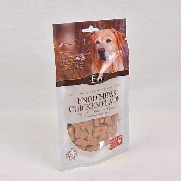 ENDI Chew Chicken Cookies 100gr Dog Dental Chew Endi