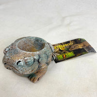 EXOTERRA Aztec Frog Water Dish 40ml Reptile Supplies Exoterra