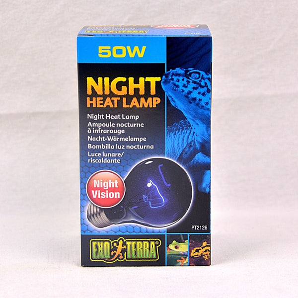 EXOTERRA Night Heat Lamp 50W Reptile Heating & Lighting Exoterra