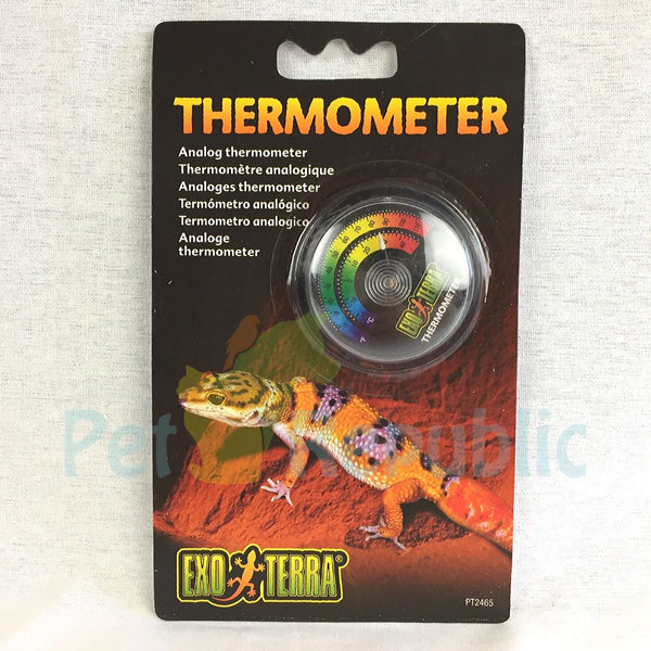 EXOTERRA Thermometer Analog for Reptiles - Pet Republic Jakarta