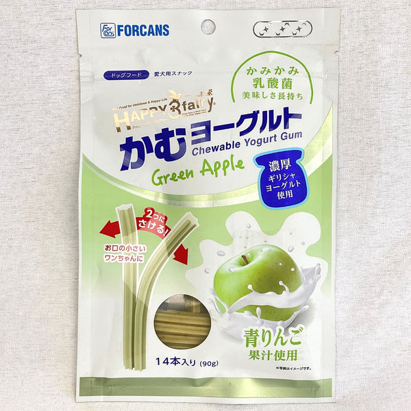 FORCANS Yogurt Apple 90g Dog Dental Chew Forcans