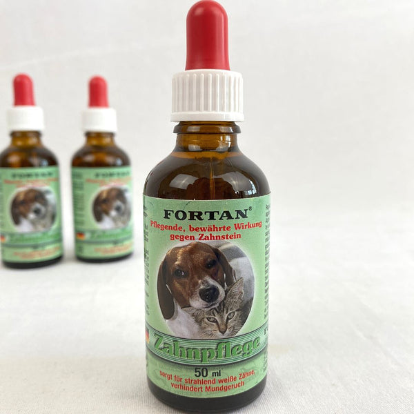 FORTAN Zahnpflege Dental Care 50ml Pet Vitamin and Supplement Fortan