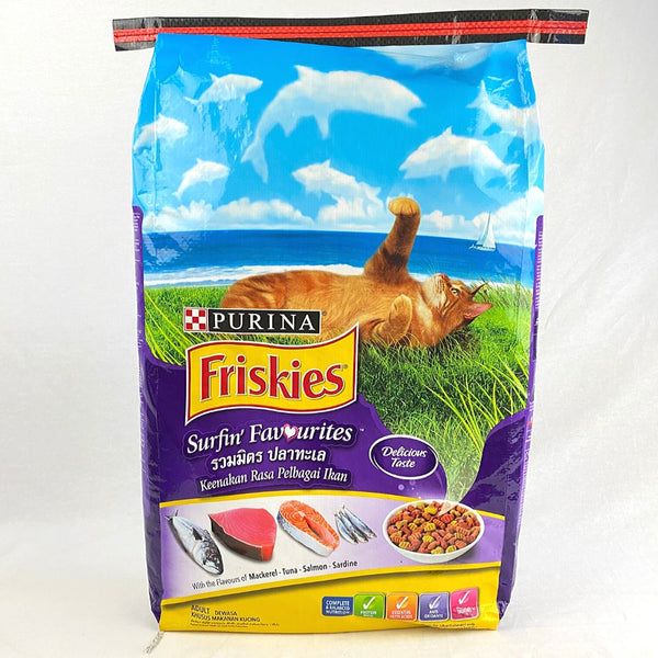 FRISKIES Adult Surfin Favourites 7kg Cat Dry Food Friskies
