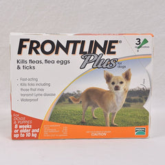 FRONTLINE Plus 0-10kg Small Dog 1pcs Grooming Pet Care Frontline