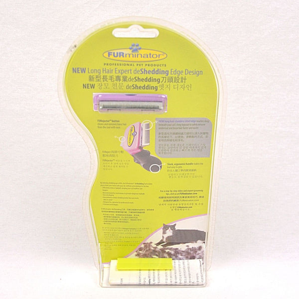 FURMINATOR Deshedding Tool CAT Long Hair Small Grooming Tools Furminator