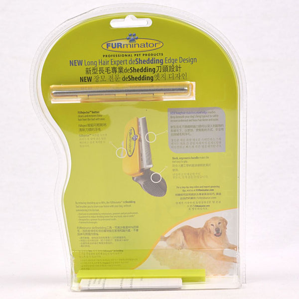FURMINATOR Deshedding Tool DOG Long Hair Large Grooming Tools Furminator