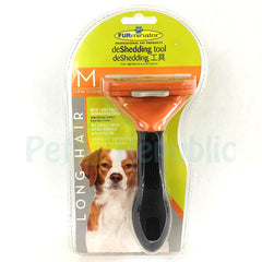 FURMINATOR Deshedding Tool DOG Long Hair Medium - Pet Republic Jakarta