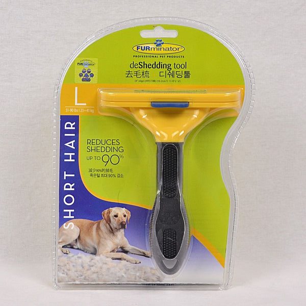 FURMINATOR Deshedding Tool DOG Short Hair Large Grooming Tools Furminator