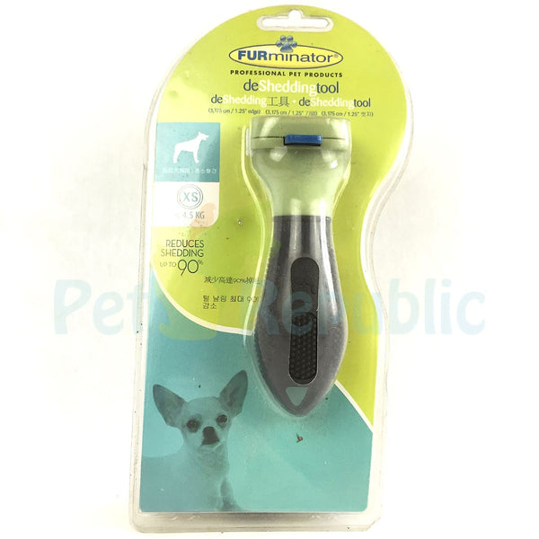 FURMINATOR XSmall Dog Deshedding Tools Deluxe - Pet Republic Jakarta