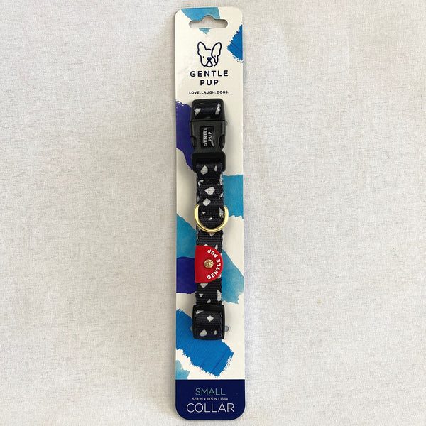 GENTLEPUP Collar Cheeky Chip Pet Collar and Leash Gentle Pup Small