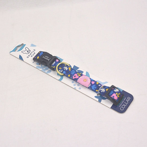 GENTLEPUP Collar Playful Polly Pet Collar and Leash Gentle Pup Medium