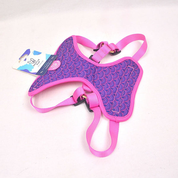 GENTLEPUP Harness Piper Pink Pet Collar and Leash Gentle Pup Large