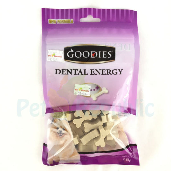 GOODIES Dental Energy Cut Bone MILK 125 gr - Pet Republic Jakarta