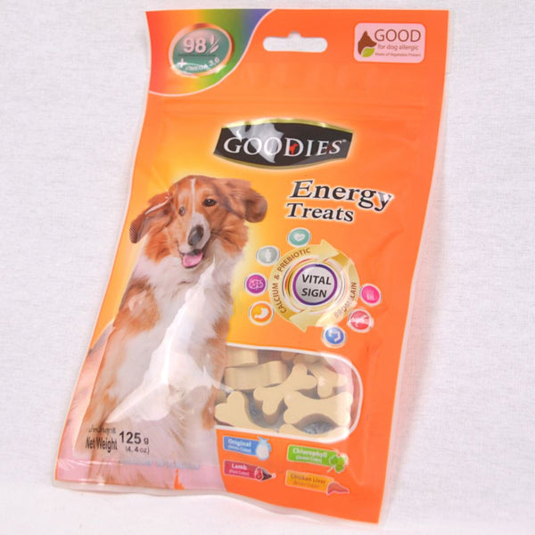 GOODIES Dental Energy Cut Bone MILK 125 gr Dog Dental Chew Goodies