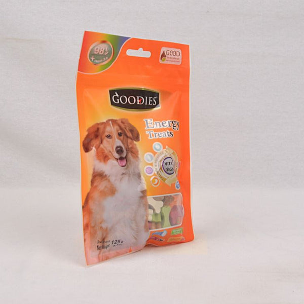 GOODIES Dental Energy Cut Bone MIX 125GR Dog Dental Chew Goodies