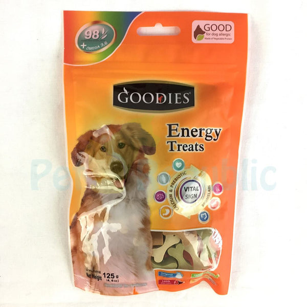 GOODIES Dental Energy Cut Bone MIX 125GR - Pet Republic Jakarta