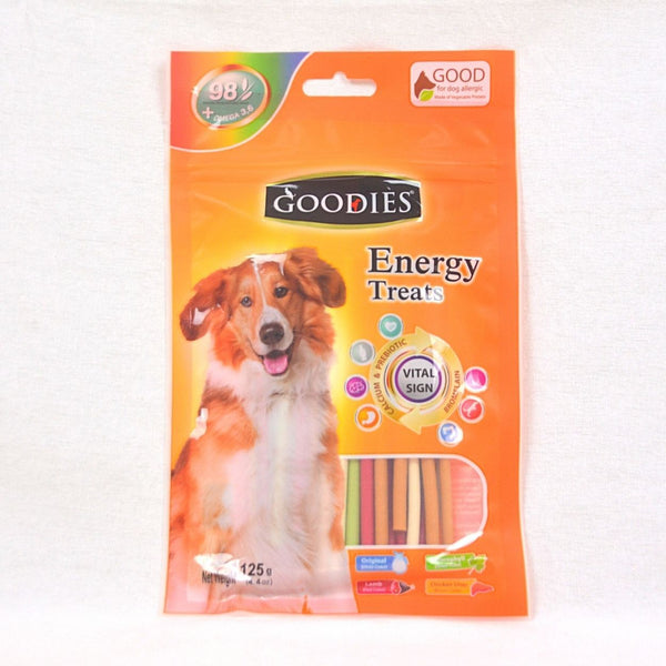 GOODIES Dental Energy Stick 125GR Dog Snack Goodies Mix