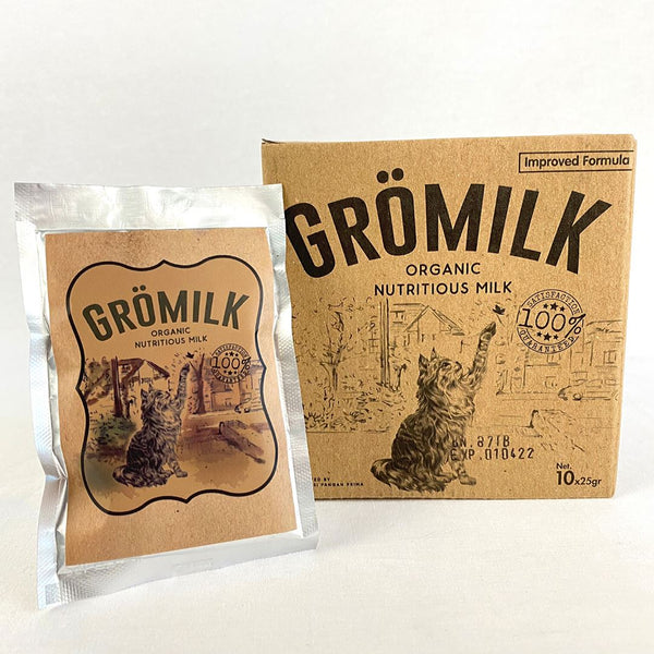GROMILK Cat 10x25g Pet Vitamin and Supplement Gromilk